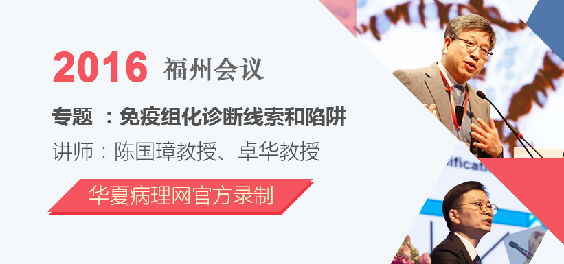 又见大师风采(续) ——华夏病理网精心制作的高清全程录像